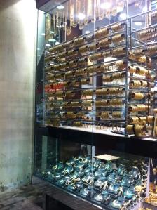 gold bracelets in the souq