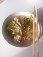 One of our family favorite dinners - simple Pho.