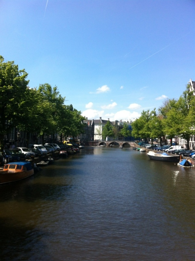 Beautiful canal - Keizersgracht from Leidseplein