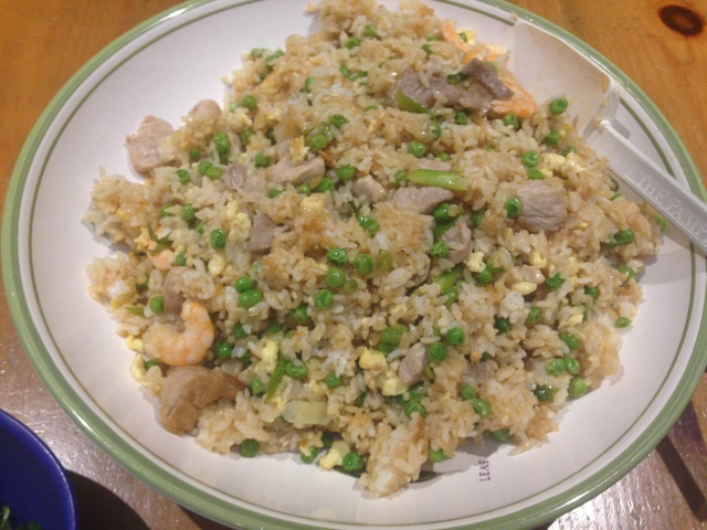 Pork and Shrimp Fried Rice